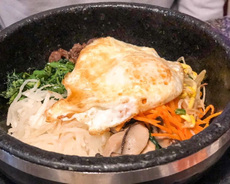 Bibimbap - with that fried egg