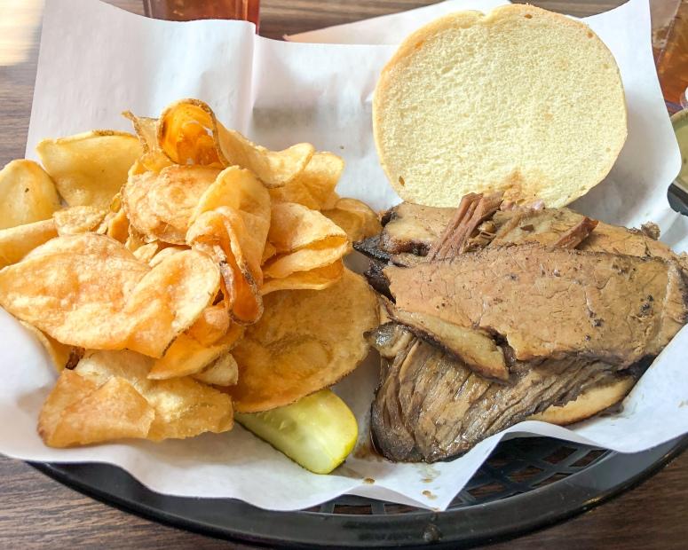 Brisket sandwich