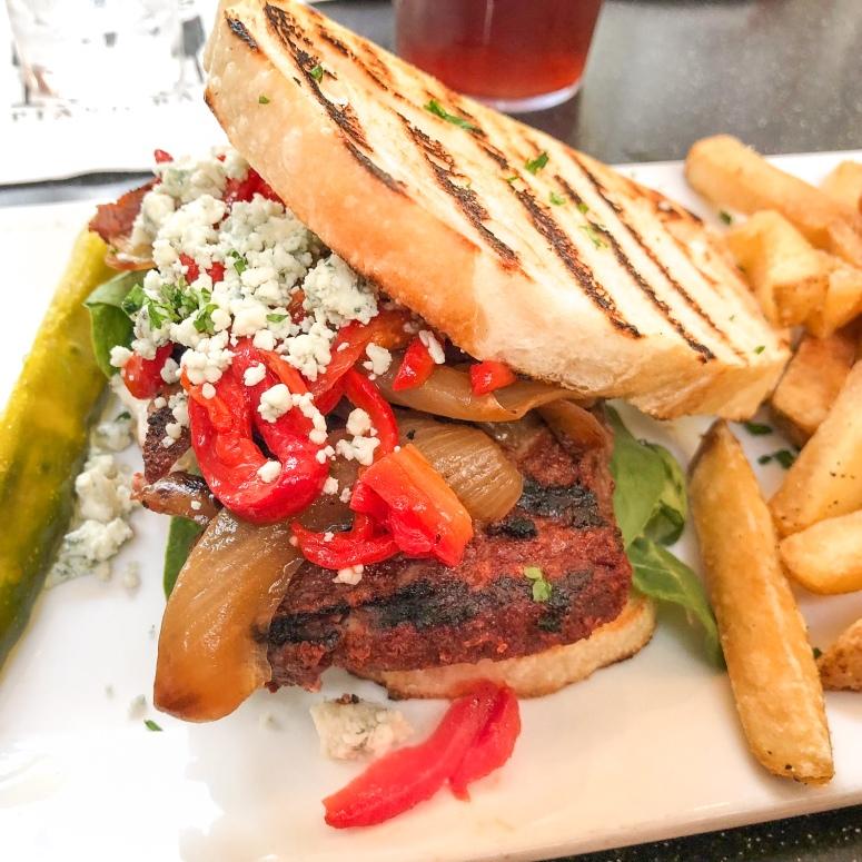 Cowboy Steak Sandwich