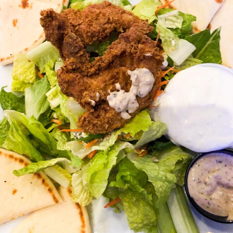 Boneless Wing Salad