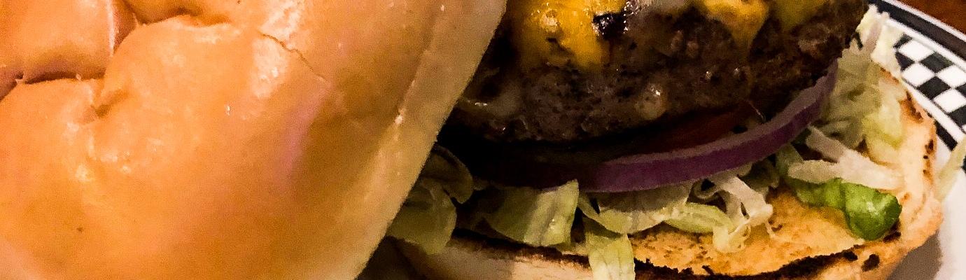 Mac & Cheese burger